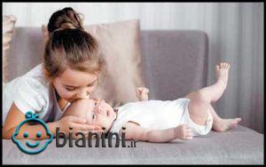 آماده کردن بچه ها برای تولد فرزند جدید