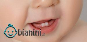 اولین دندان نوزاد چه موقع درمیآید؟