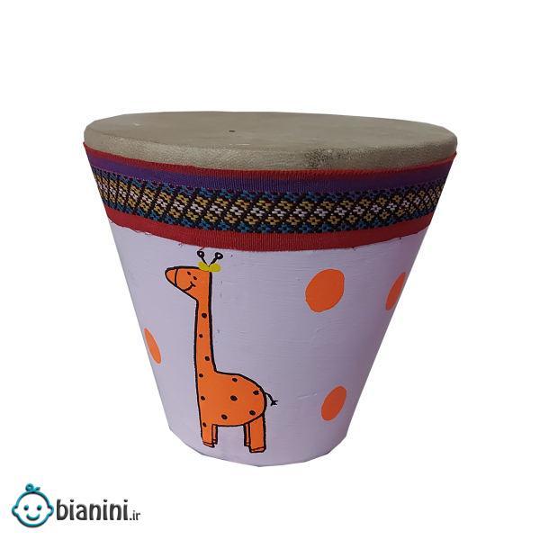 بازی آموزشی طبلک مدل Giraffe
