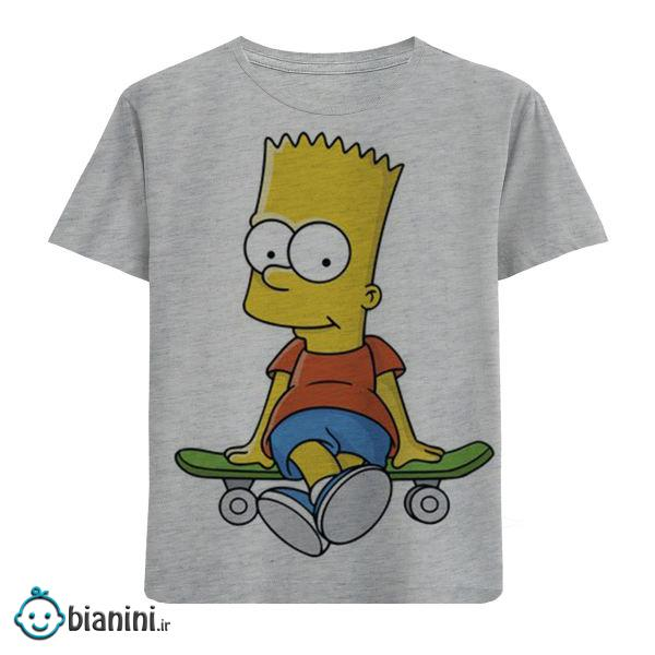 تی شرت بچگانه مدل سیمسون F49