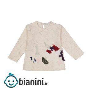 تی شرت نوزادی دخترانه فیورلا مدل 30552