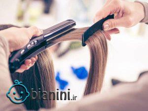 روش و ترفندهای اتو کشیدن مو