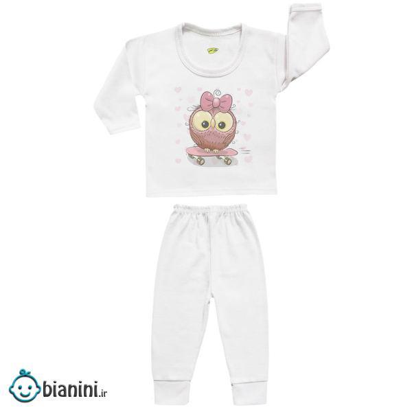 ست تی شرت و شلوار نوزادی کارانس مدل SBS-3140