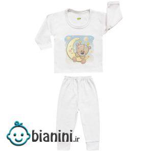 ست تی شرت و شلوار نوزادی کارانس مدل SBS-3258