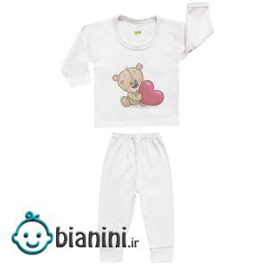 ست تی شرت و شلوار نوزادی کارانس مدل SBS-3262