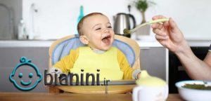 شروع غذای کمکی از چند ماهگی باشد؟ + اینفوگرافی