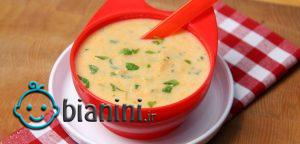 طرز تهیه سوپ برای نوزاد
