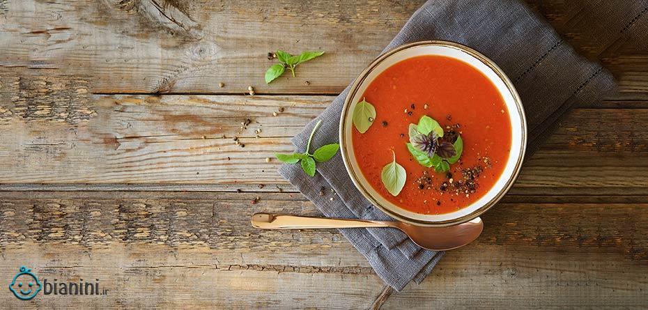 طرز تهیه 5 سوپ مناسب در بارداری + فواید