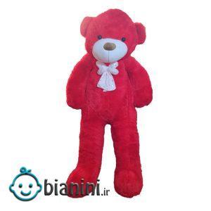 عروسک طرح خرس کد 127 ارتفاع 200 سانتی متر