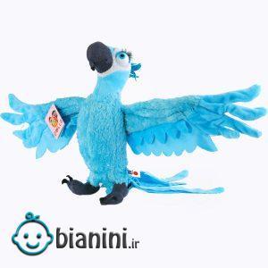 عروسک طرح طوطی کد BG11540 ارتفاع 30 سانتی متر