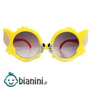 عینک آفتابی بچگانه طرح گربه کد KD61008