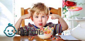 غذاهایی که باعث بیش فعالی کودک میشوند