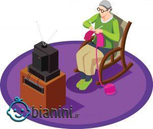 فواید تماشای فیلم و تلویزیون برای سالمندان
