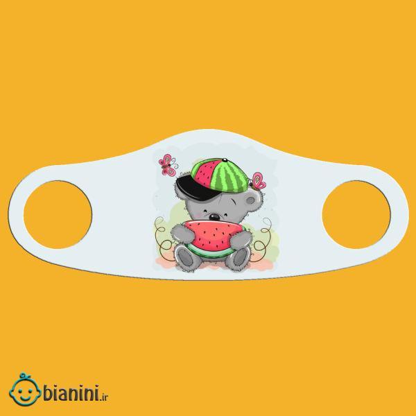 ماسک تزیینی دخترانه طرح هندوانه کد m2