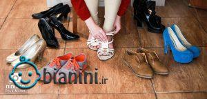 پوشیدن کفش پاشنه بلند در بارداری چه خطراتی دارد؟