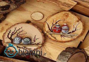 کاردستی با سنگریزه و سنگ با ایده های جذاب و متفاوت