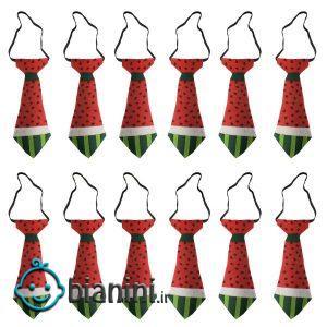 کراوات پسرانه مدل یلدا کد a2 بسته 12 عددی
