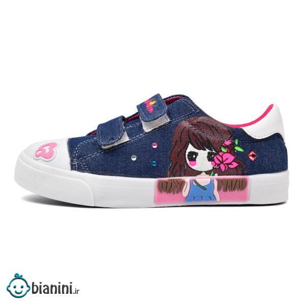 کفش راحتی دخترانه کد 1012S