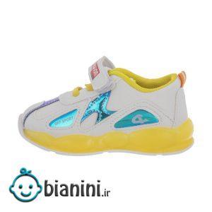 کفش راحتی چراغدار نوزادی کد 00063