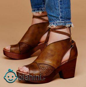 کفش های شیک قهوه ای که هر خانم ایرانی حداقل یکی دارد