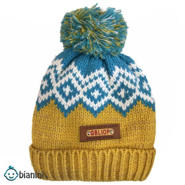 کلاه بافتنی پسرانه مدل ویکانی1