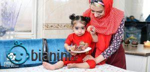 کودک 6 تا 12 ماهه چه مقدار غذا نیاز دارد؟