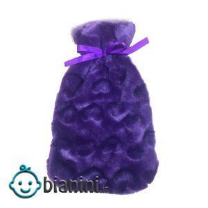 کیسه آب گرم زنیت مد مدل کاوردار Purple