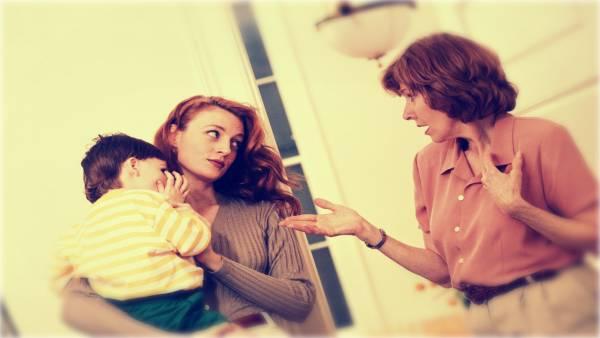 رفتار مادر بزرگ