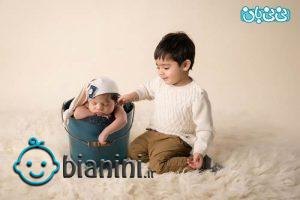 عکاسی در آتلیه کودک در شمال تهران