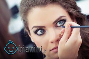آموزش کامل آرایش چشم درشت
