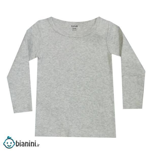 تی شرت آستین بلند بچگانه کیابی مدل AD8
