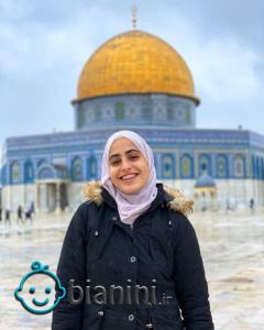 دختری که قهرمان رسانهای فلسطین شد