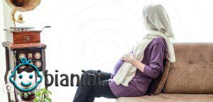 درست نشستن و خوابیدن در بارداری از زبان فیزیوتراپیست