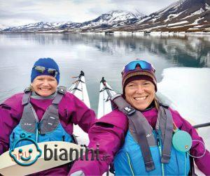 2 زن تنها، یک سال در قطب شمال!