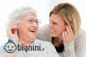 تماس تلفنی با مادر و کاهش استرس