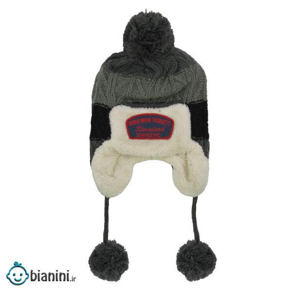 کلاه بافتنی پسرانه کد 149A