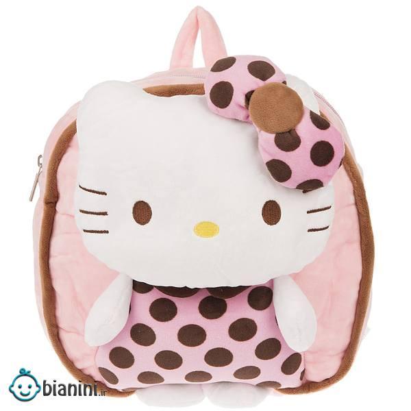 کوله پشتی بچه گانه مدل Hello Kitty Pink