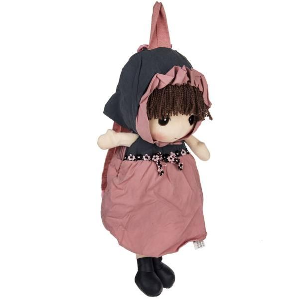 کوله پشتی بچه گانه اچ دبلیو دی مدل Pink Skirt