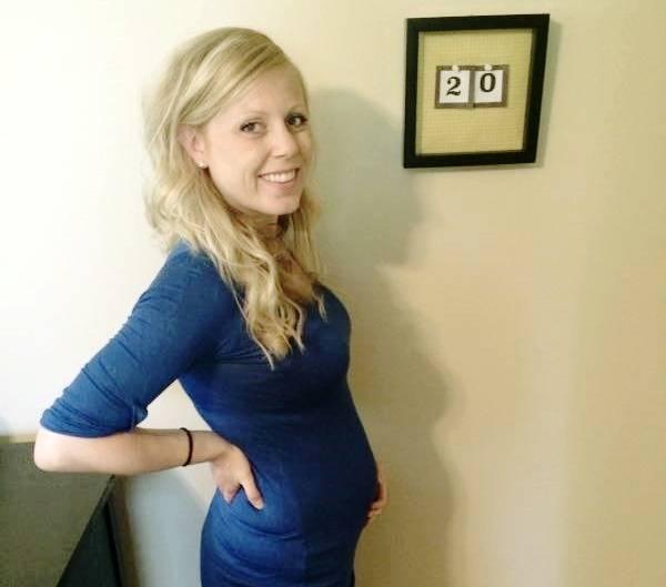 شکم در هفته 20 بارداری