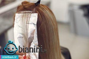 بهترین آرایشگاه برای رنگ مو در شمال تهران
