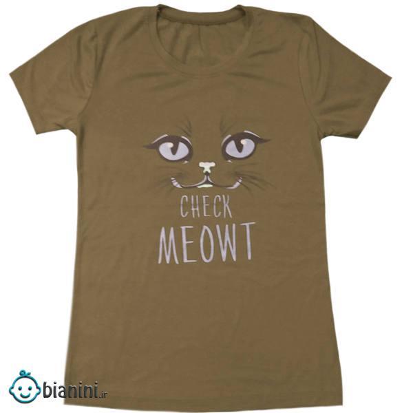 تی شرت آستین کوتاه دخترانه مدل 2021 کد 01