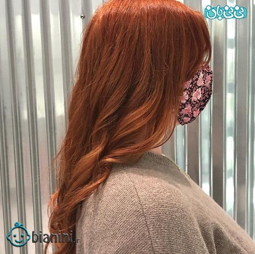 رنگ موی جدید دخترانه