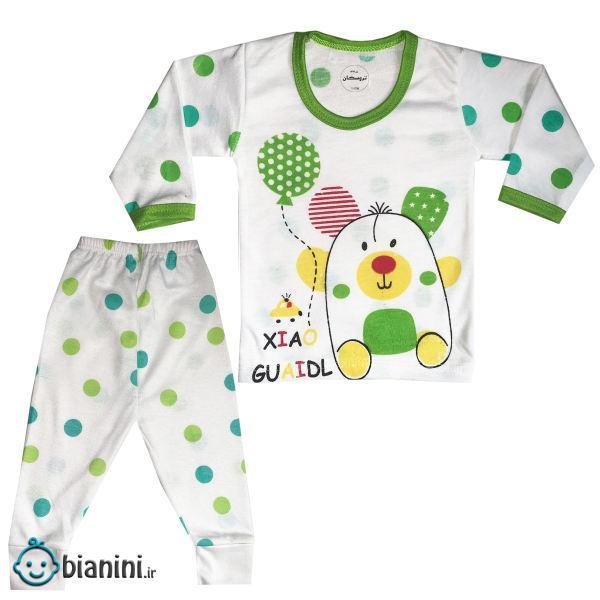 ست تی شرت و شلوار نوزادی تروسکان مدل بادکنک
