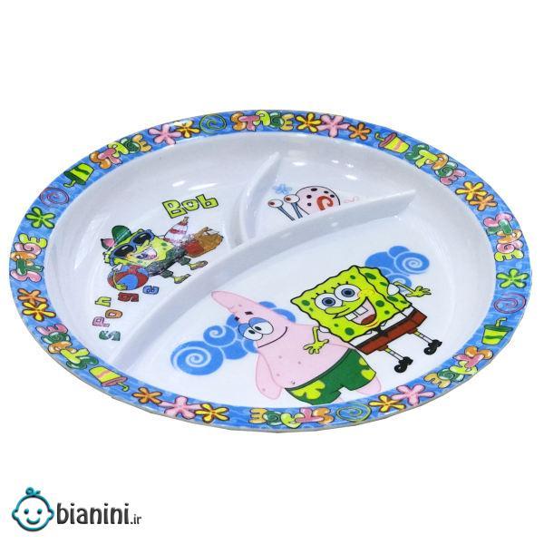 ظرف غذای کودک کسری یزد طرح باب اسفنجی