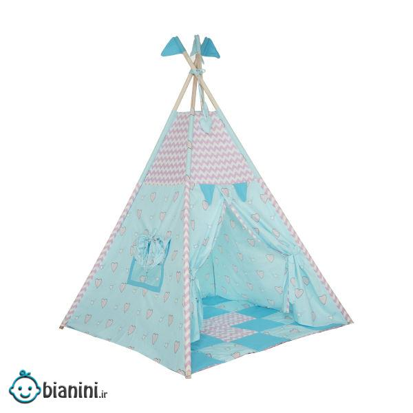 چادر بازی کودک مدل سرخپوستی کد 3002