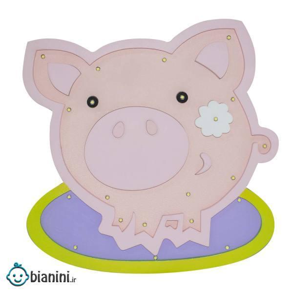 چراغ خواب اتاق کودک مدل خوک