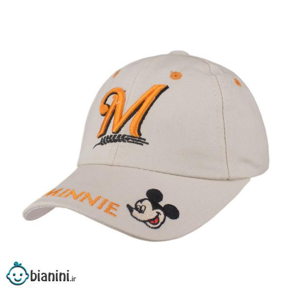 کلاه کپ بچگانه طرح میکی موس کد KOB-83