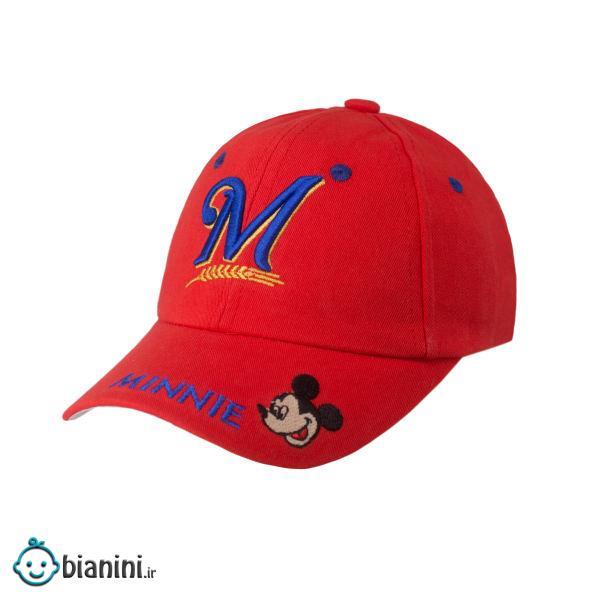 کلاه کپ بچگانه طرح میکی موس کد KOB-85