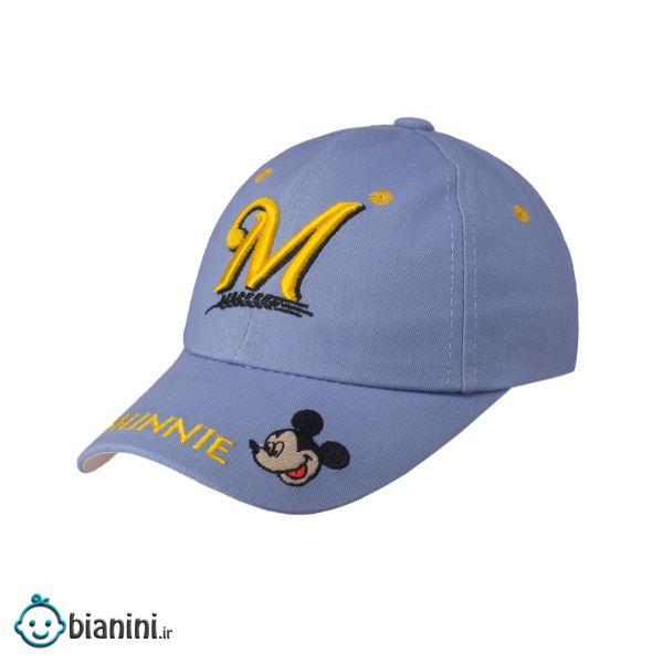 کلاه کپ بچگانه طرح میکی موس کد KOB-86