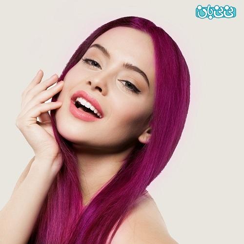 رنگ موی دخترانه جدید